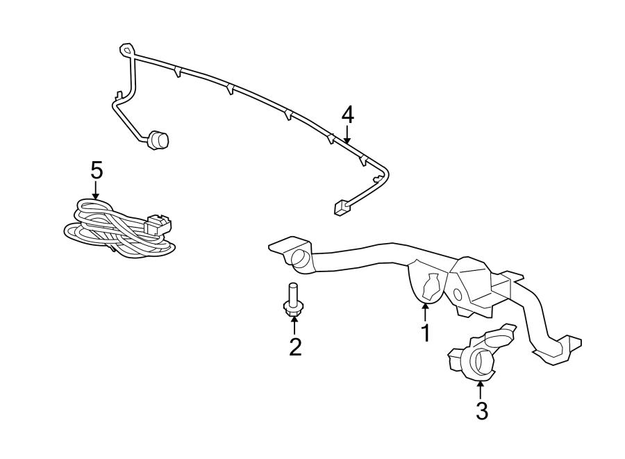 Gmc Acadia Denali Harness  Extension  Connector  Wire