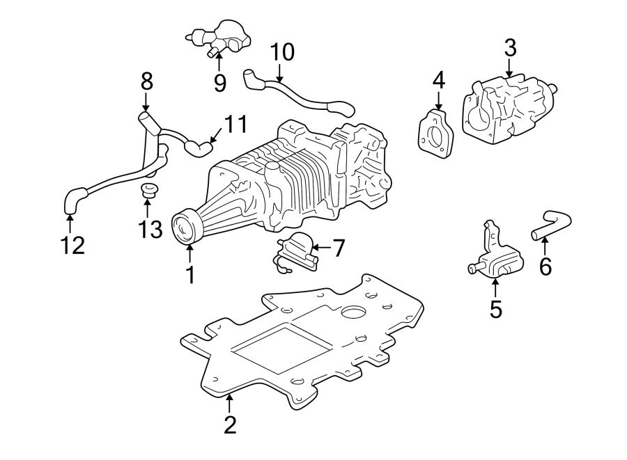 1998 Buick Supercharger  Supercharger Kit  Engine  Liter