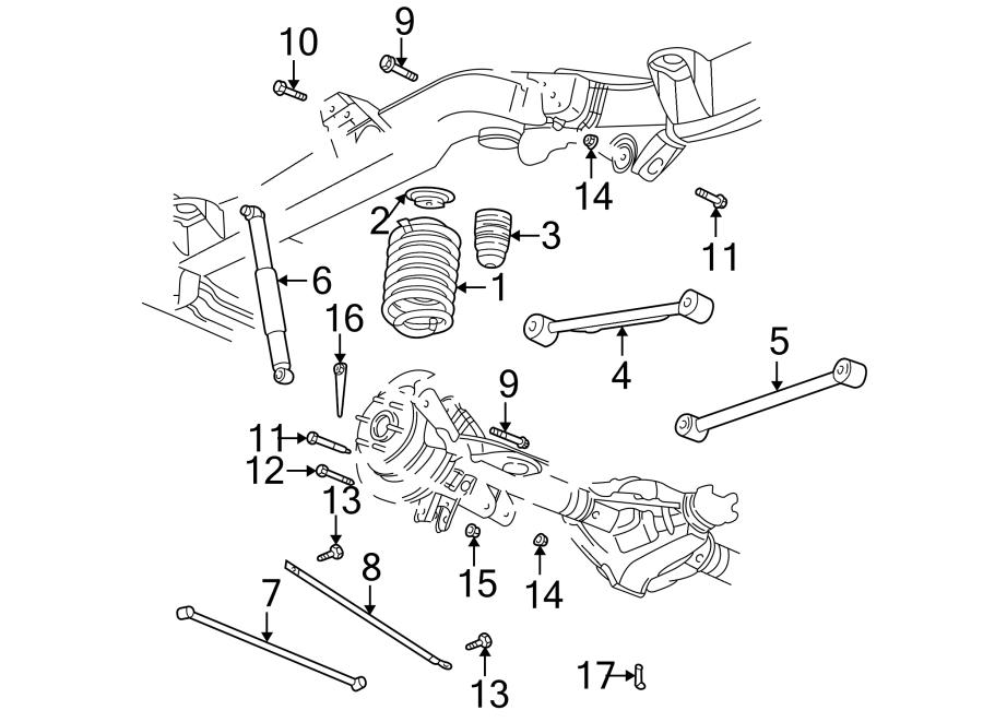 2004 Chevrolet Trailblazer EXT LT Suspension Track Bar ...