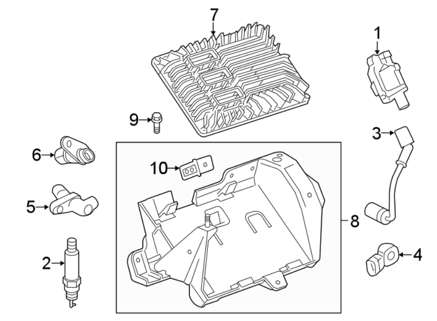 12670293 - general motors plug wire  wire assembly