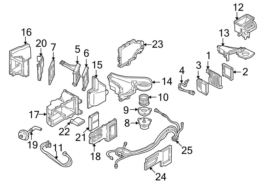 Pontiac Sunfire Hvac blower motor - 19153679 | GM Parts ...