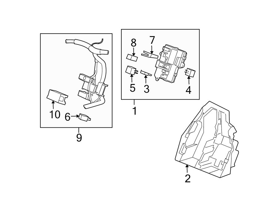 chevrolet corvette instrument panel wiring harness  relays