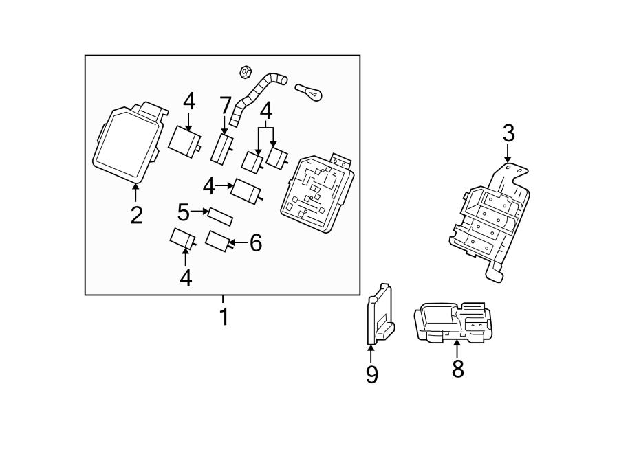 chevrolet monte carlo fuse box  amp  police  modules