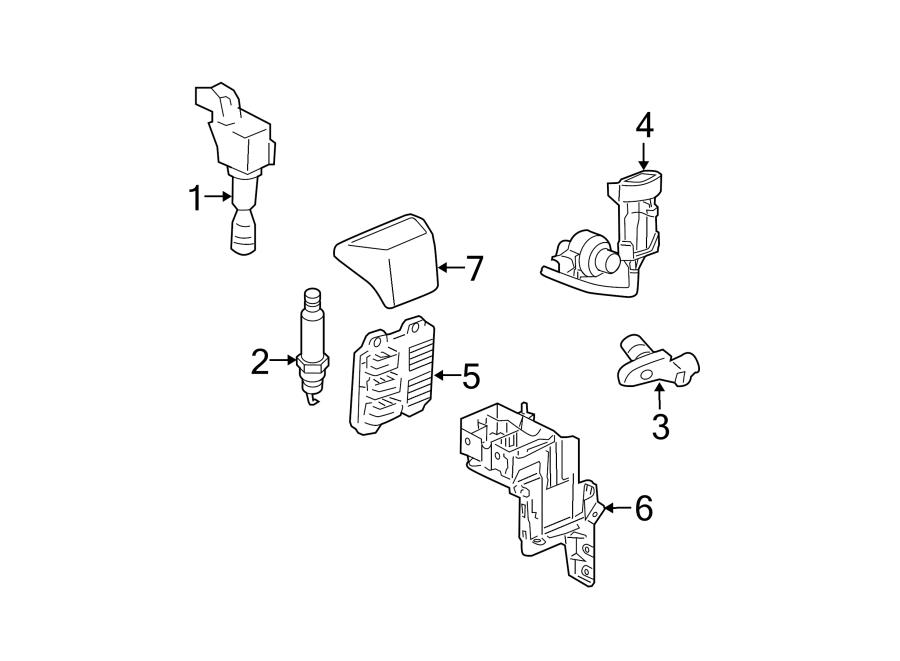 2011 chevrolet hhr engine control module cover liter. Black Bedroom Furniture Sets. Home Design Ideas