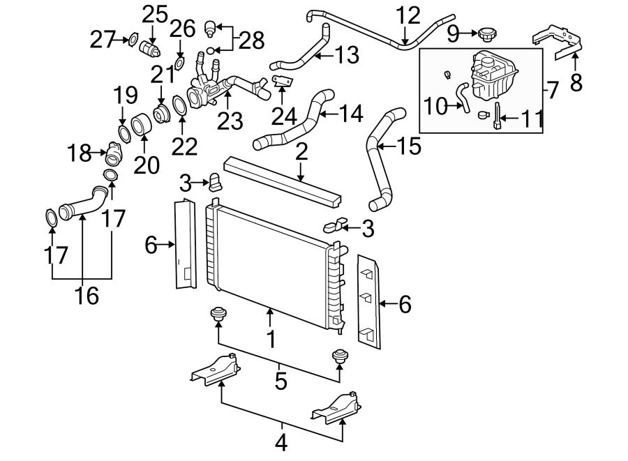 Chevrolet Malibu Radiator  Radiator