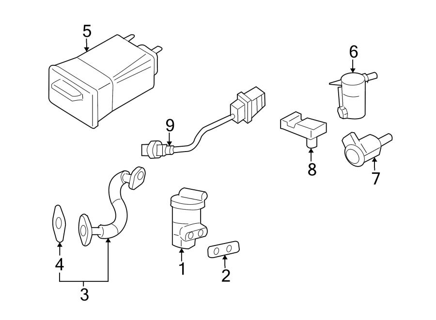 15190482 - pontiac vapor canister  canister assembly