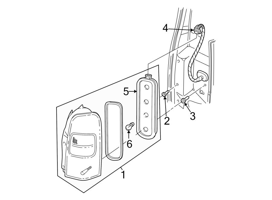 Pontiac Montana Tail Light Socket