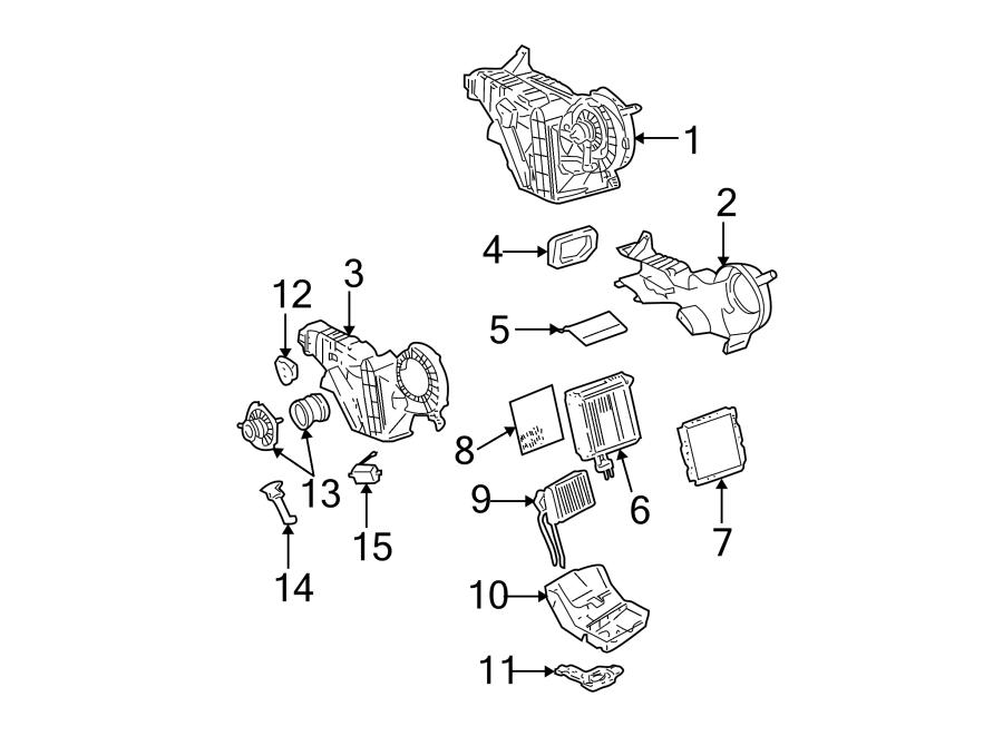 15832319  Chevrolet Hvac blower motor control module