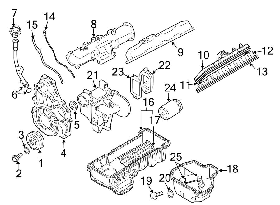 Chevrolet Silverado 3500 Engine Oil Drain Plug. 2015-16. 6 ...2015 Silverado 3500 Parts