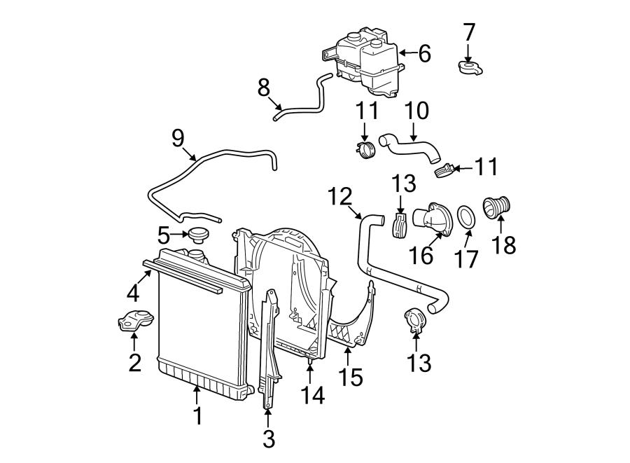 Chevrolet Colorado Engine Coolant Thermostat Housing