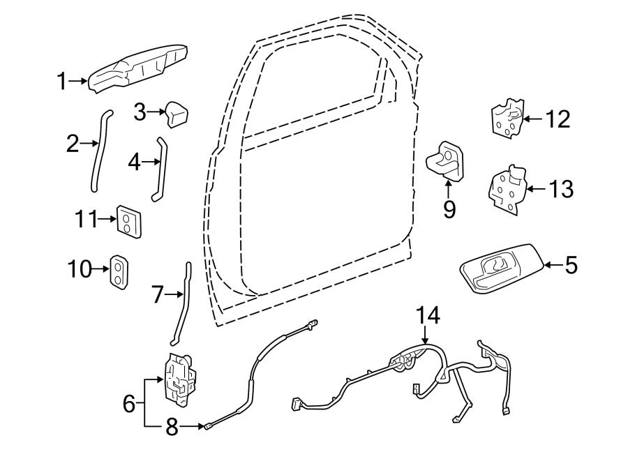 22912642 general motors door wiring harness front. Black Bedroom Furniture Sets. Home Design Ideas