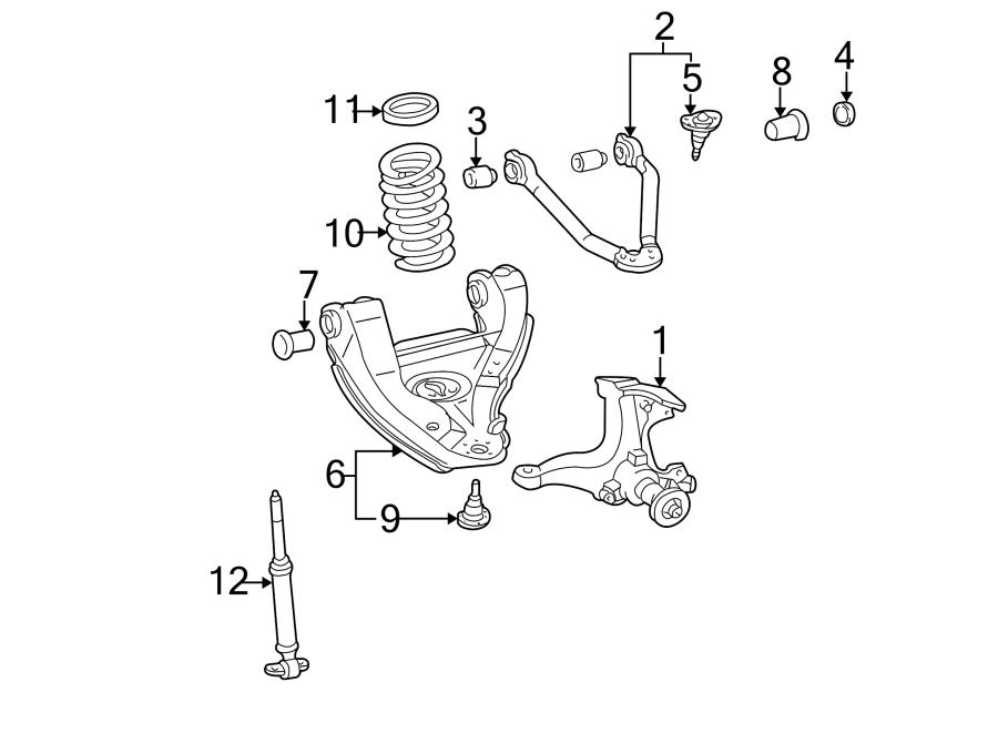 Chevrolet K2500 Suspension Control Arm