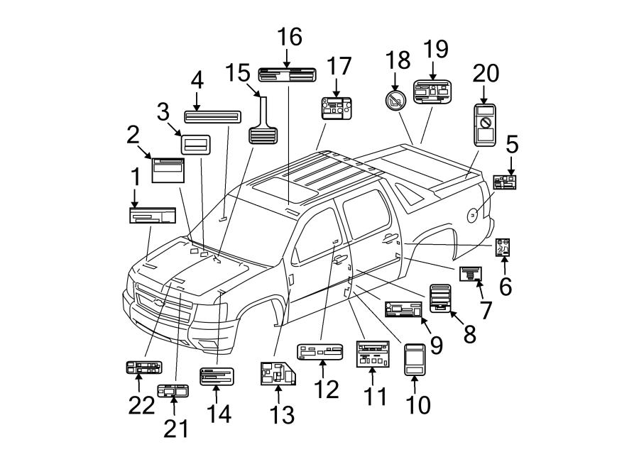 Pontiac G6 Label  Fuel