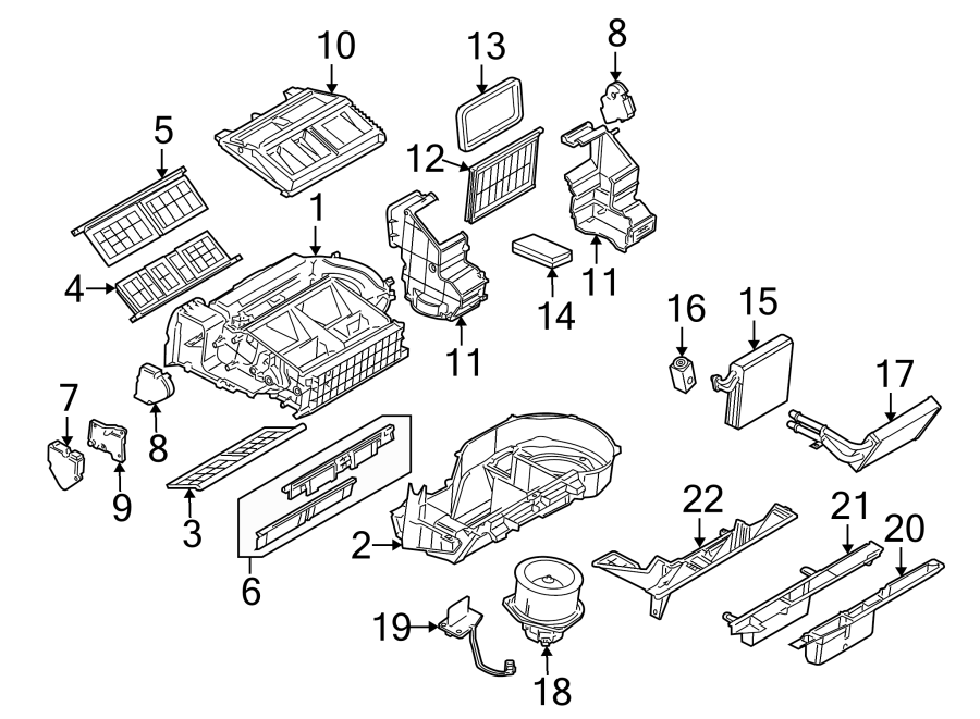 2008 Chevrolet Uplander A  C Expansion Valve
