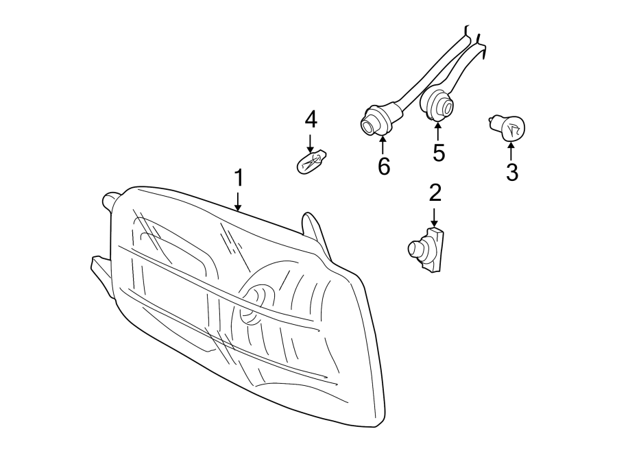 Chevrolet Venture Socket  Light