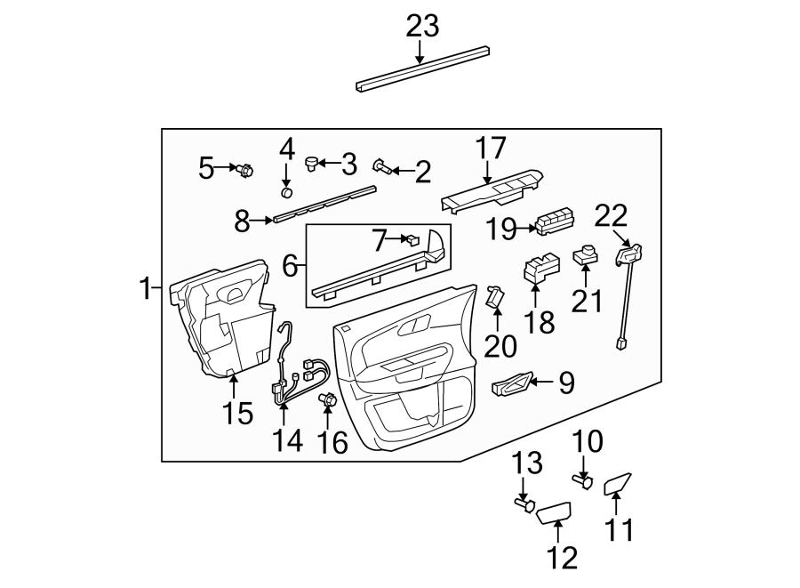 20789032 gmc door wiring harness side driver left. Black Bedroom Furniture Sets. Home Design Ideas