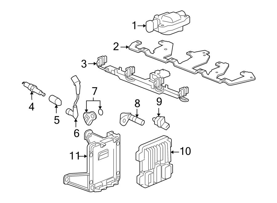 2009 chevrolet spark plug wire  liter  ignition  set