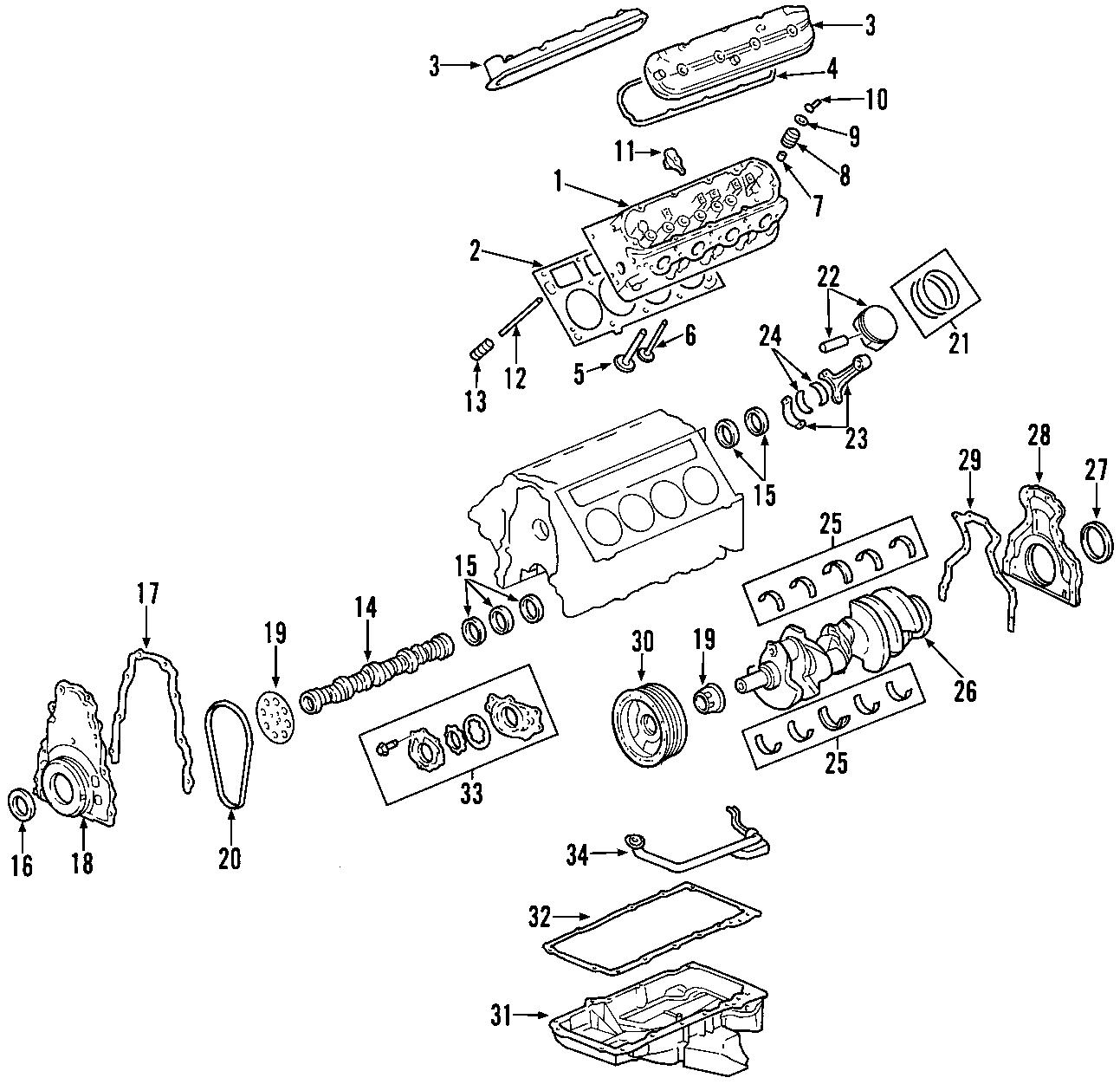 Chevrolet Suburban 2500 Engine Oil Pump Pickup Tube