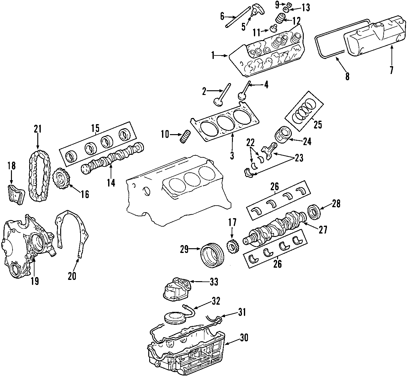 Saturn Aura Engine Torque Strut  Liter  Sedan  Absorber