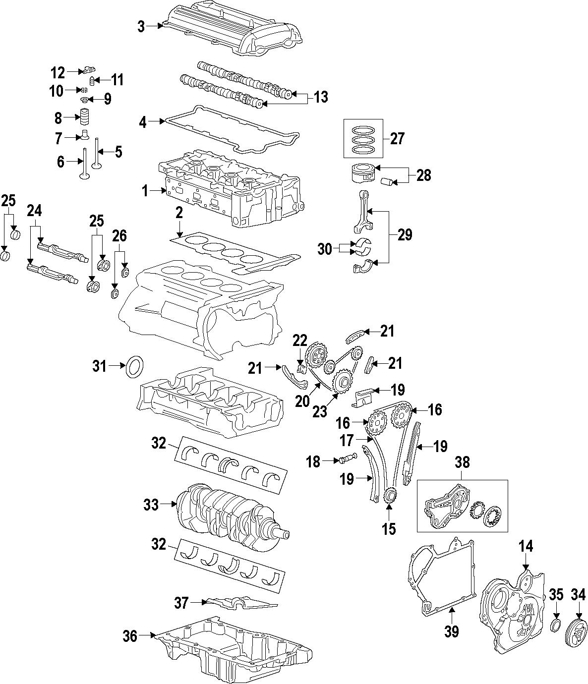 2014 Buick Verano Camshaft  Timing  Engine  Actuator