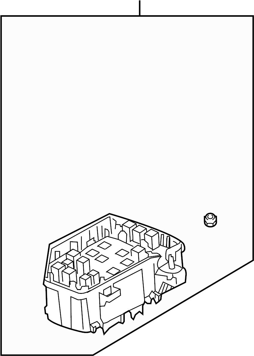 Gmc Acadia Block  Fuse  U0026 Relay Box  Engine Compartment  W