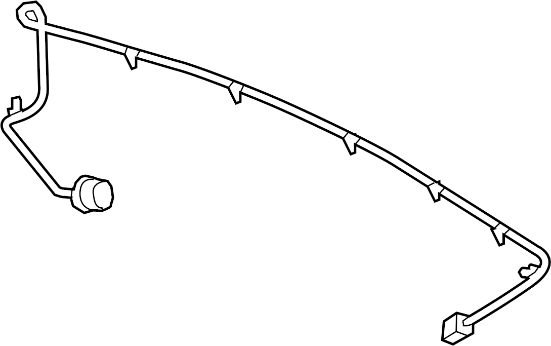 25910884 - general motors harness  wire  trailer  extension  assembly