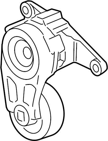 Saturn Vue Accessory Drive Belt Tensioner Assembly  Liter