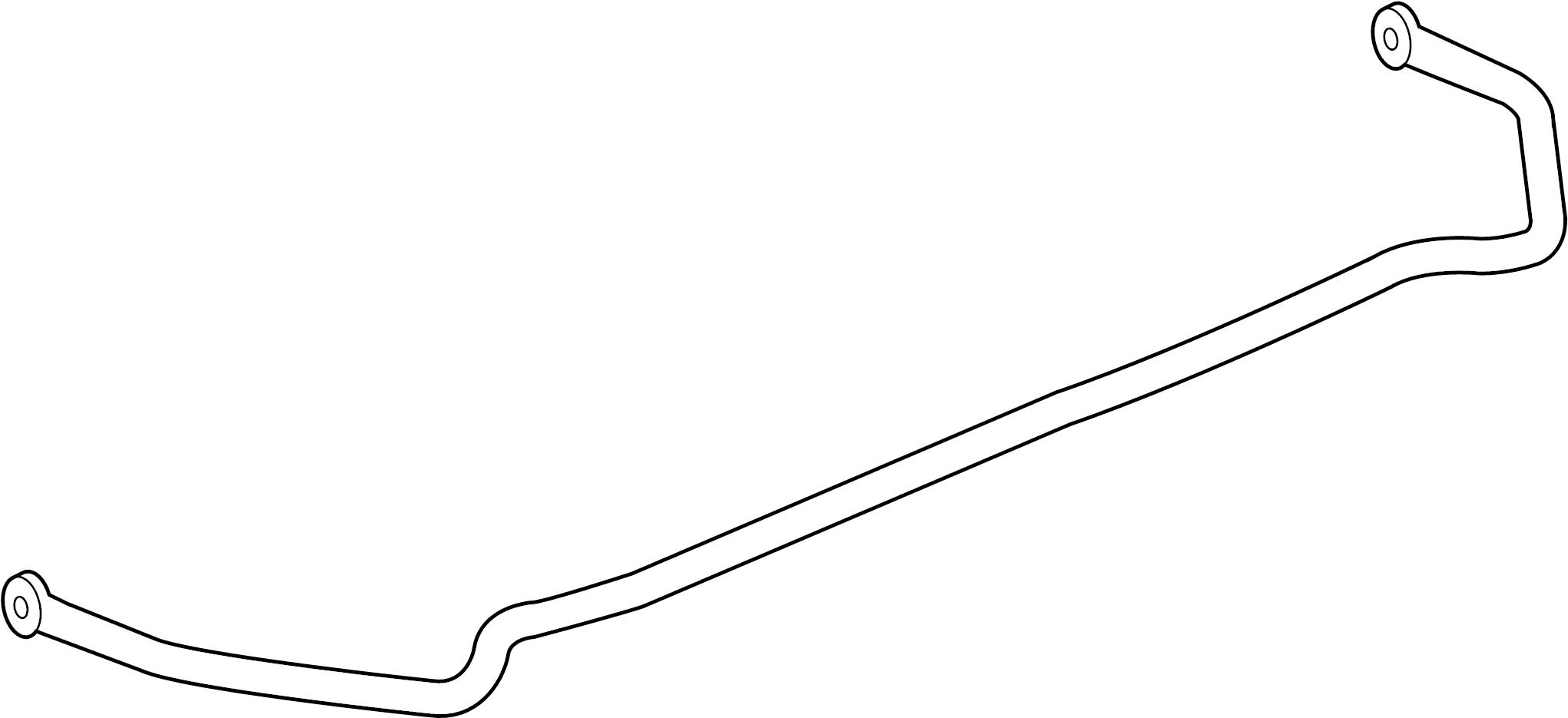 Chevrolet Impala Suspension Stabilizer Bar  Rear