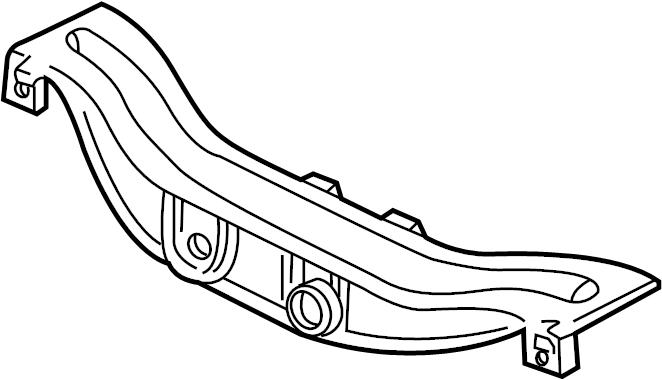 2008 grand prix rear suspension parts