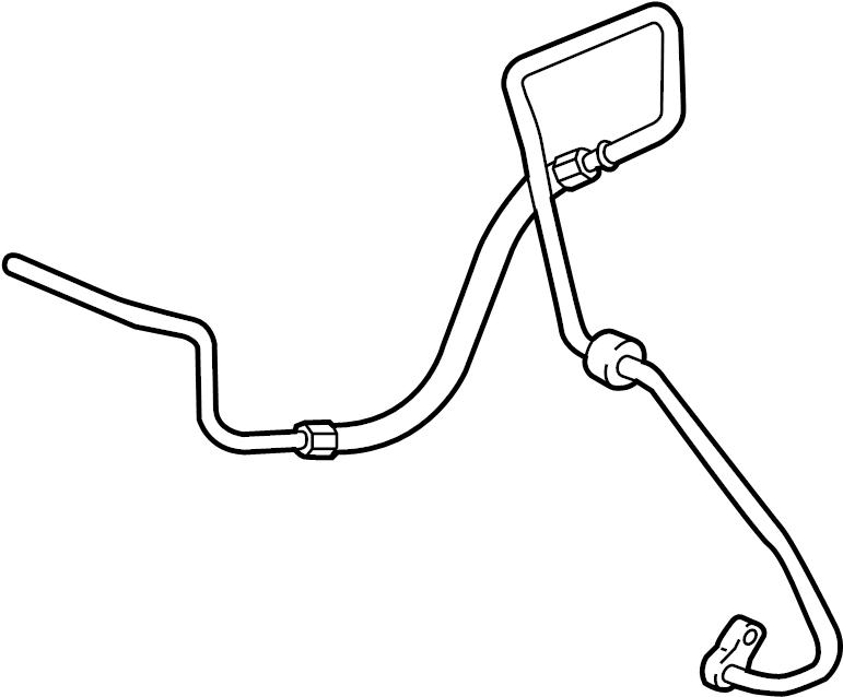 2011 chevrolet oil outlet tube  pipe  1 4 liter turbo
