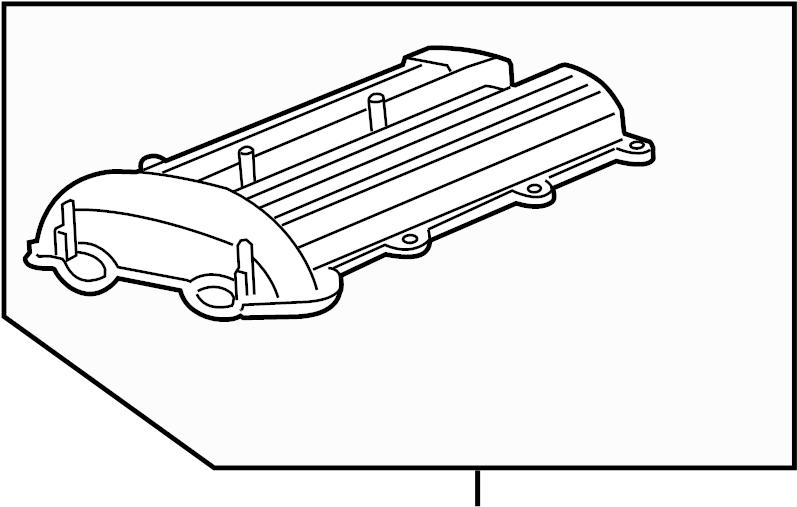 2011 chevrolet cruze engine valve cover
