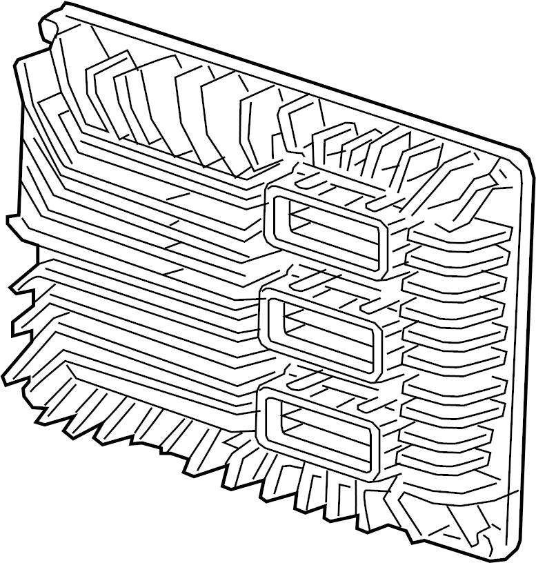 Gmc Acadia Engine Control Module  Liter  System  Ecm