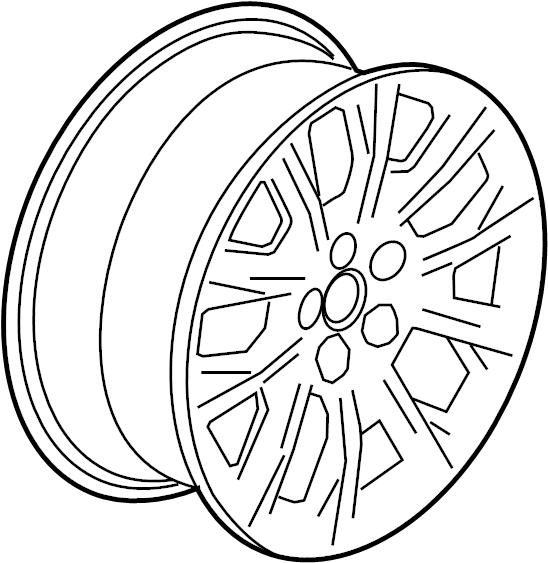 2008 Cadillac Cts Center Cap Wheel Cap Wheels Opt