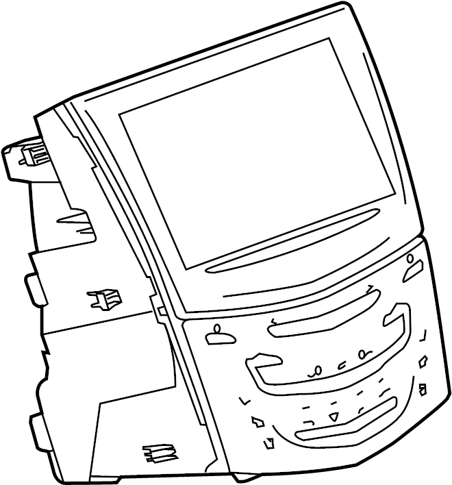 2015 chevrolet tahoe control  radio  module  unit  mobile phone  receiver  tuner