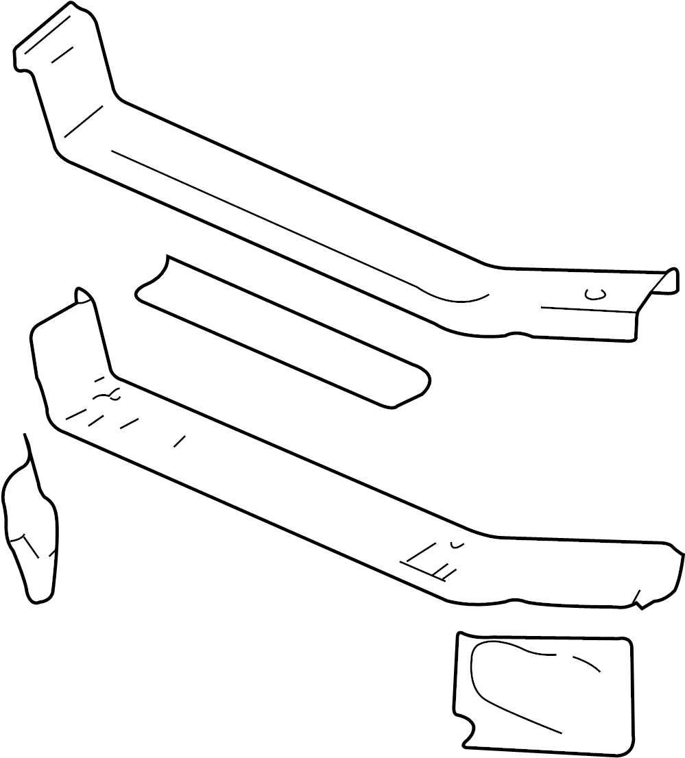 Pontiac Grand Prix Radiator Support Panel  Front  Upper