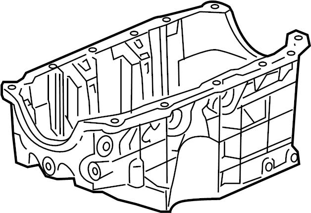 Saturn Aura Engine Oil Pan  Liter  Bearings  Maxx