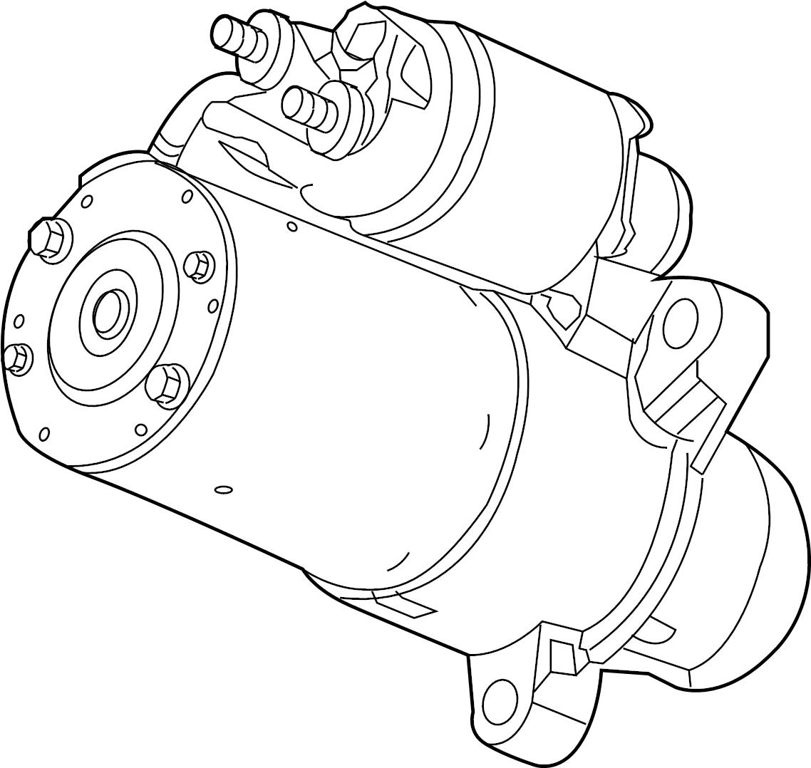 gmc acadia starter  general motors does not service