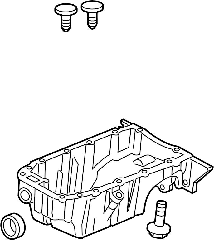 chevrolet cruze limited pan  oil  motors  general