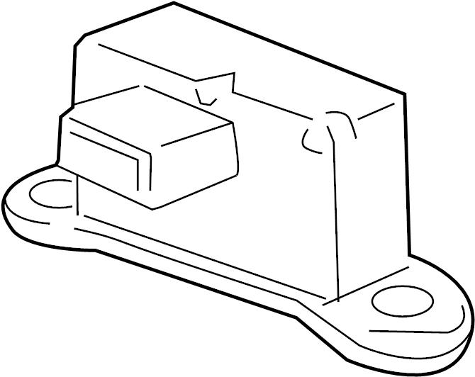 chevrolet cruze sensor  yaw rate sensor  yaw sensor