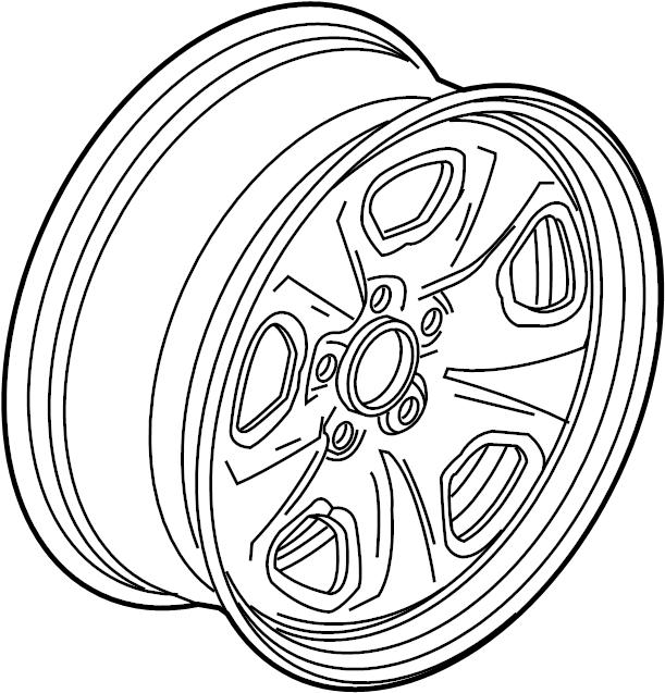 chevrolet camaro wheel 19x  wheel  alloy  19  code  rvd  may