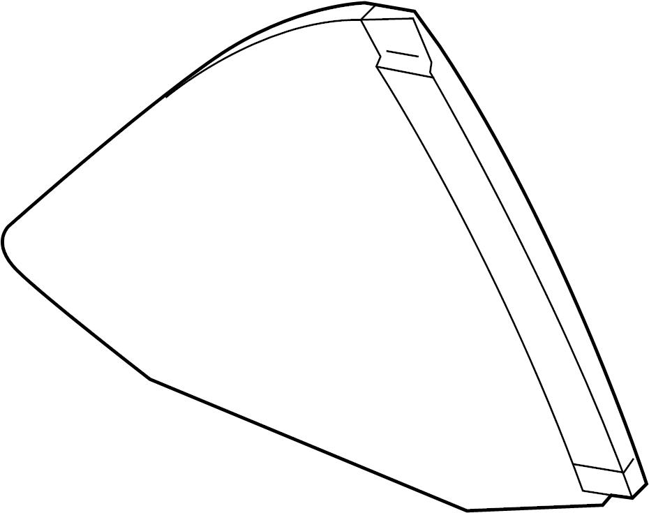 chevrolet camaro lt quarter glass  window  convertible  gm