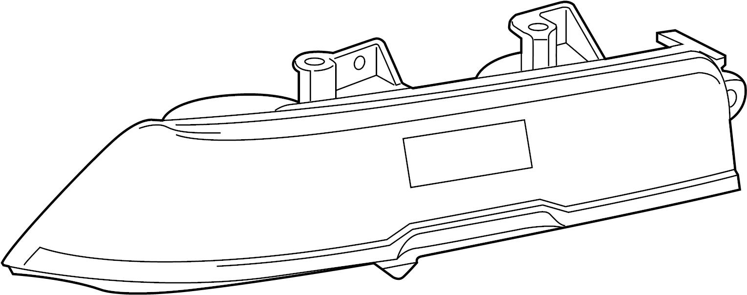 2015 chevrolet camaro lamp  tail  light assembly  combo