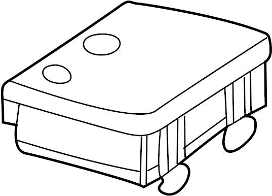 2008 chevrolet control module  receiver  receiver asm-r  con dr lk
