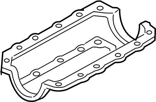 Pontiac Montana Engine Oil Pan Gasket  Liter  Bearings