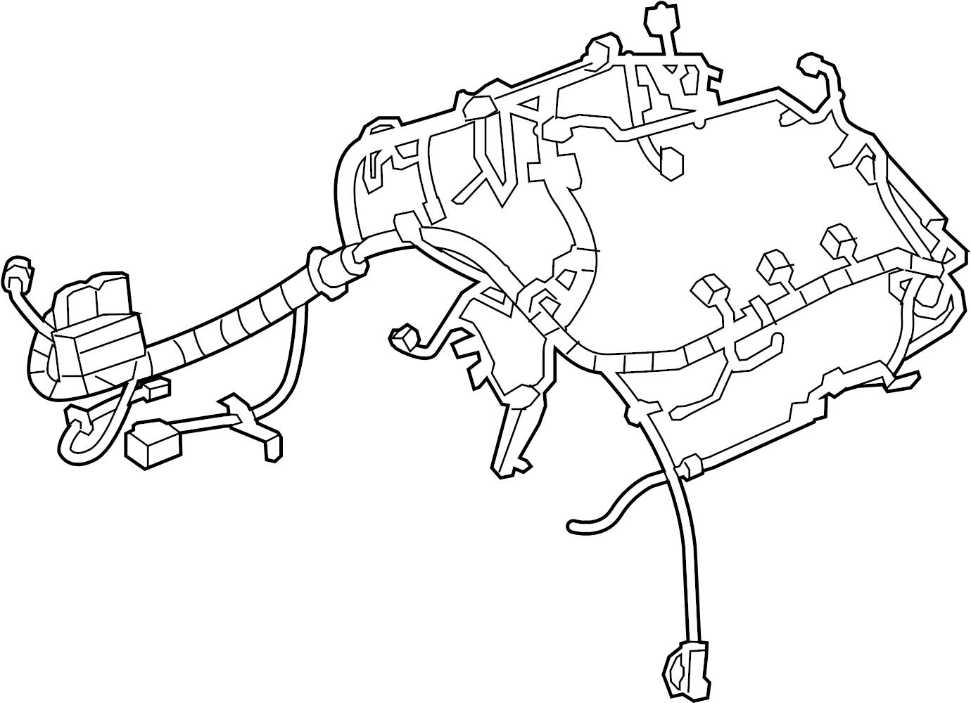 chevrolet malibu engine harness  harness assembly