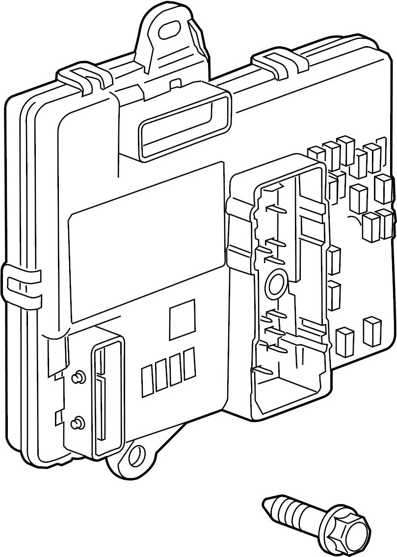 2008 chevrolet malibu body control module