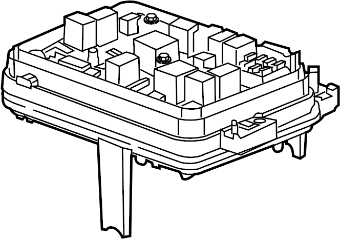 2013 chevrolet equinox block assembly