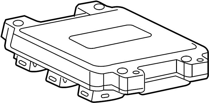 gmc acadia ecm  module  pcm