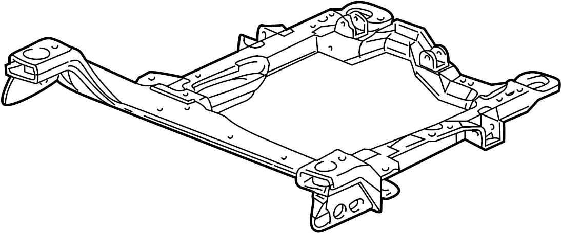 2003 buick century engine  crossmember  cradle  bracket