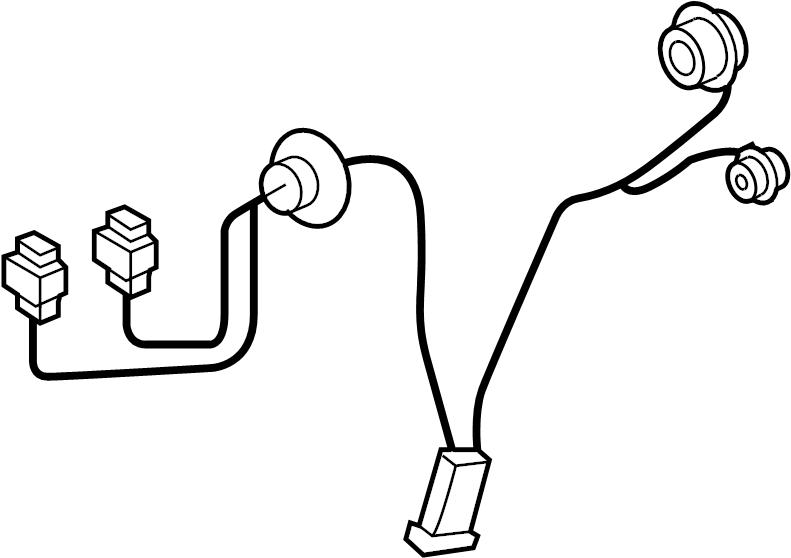 Pontiac Headlamp Harness